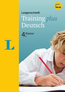 Langenscheidt Training plus Deutsch 4. Klasse