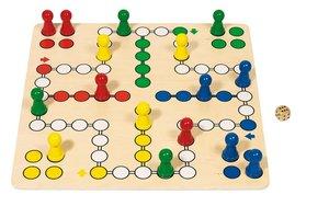 Gollnest & Kiesel 56033 - Brettspiel Ludo 50 x 50 cm