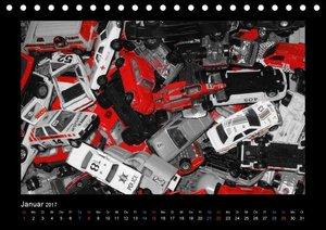 Autos aus der Spielzeugkiste (Tischkalender 2017 DIN A5 quer)