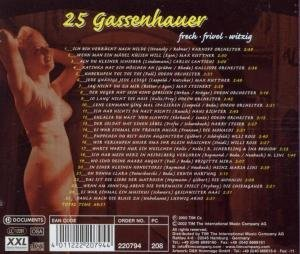 V.A.-25 GASSENHAUER-VOL.