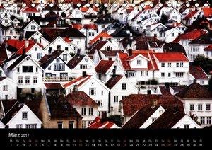 Norwegen - Die Fjordstädte (Tischkalender 2017 DIN A5 quer)