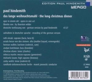 Das lange Weihnachtsmahl