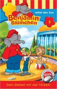 Benjamin Blümchen 002 rettet den Zoo. Cassette