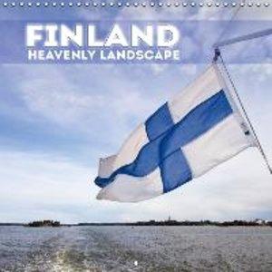 FINLAND Heavenly Landscape (Wall Calendar 2015 300 × 300 mm Squa