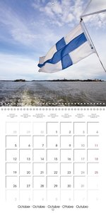 FINLAND Heavenly Landscape (Wall Calendar 2015 300 × 300 mm Squa
