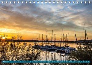 Mittelfranken - Das fränkische Seenland (Tischkalender 2017 DIN