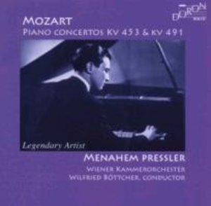 Menahem Pressler spielt Mozart