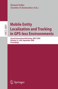 Mobile Entity Localization and Tracking in GPS-less Environments