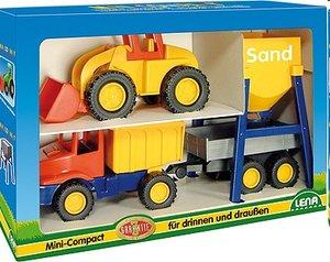 Lena 01252 - Mini Compact: Baustellen Set