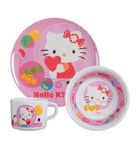 p:os 68758 - Hello Kitty: Frühstücksset