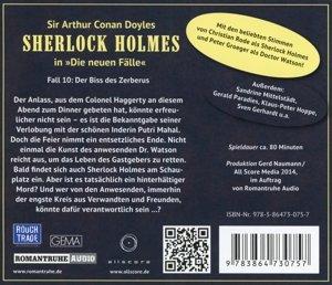 Sherlock Holmes - Neue Fälle 10 Der Biss des Zerberus