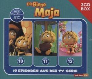 Die Biene Maja 3-CD Hörspielbox zur neuen TV-Serie (CGI) Vol. 4