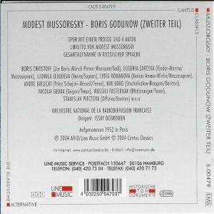 Boris Godunow-Zweiter Teil