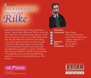 Dichterköpfe - Rainer Maria Rilke