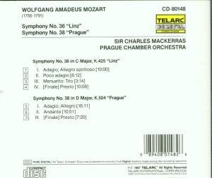 Sinfonien 36 & 38