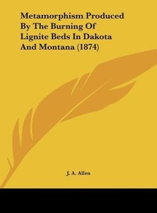 Metamorphism Produced By The Burning Of Lignite Beds In Dakota A