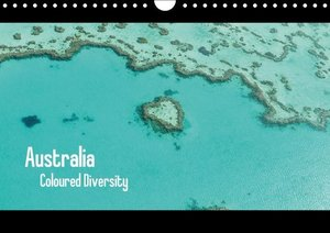 Australia - Coloured Diversity / UK-Version (Wall Calendar 2015