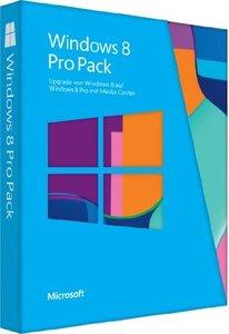 Windows 8 Pro Pack32/64 Bit - Upgrade von Windows 8 auf Windows