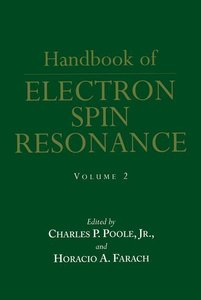Handbook of Electron Spin Resonance