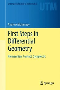 First Steps in Differential Geometry