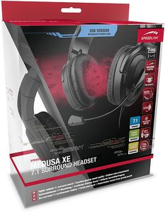 Speedlink MEDUSA XE Virtual 7.1 Surround Headset - USB, schwarz