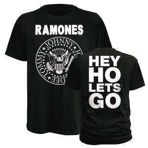 Hey Ho Let's Go (T-Shirt Grösse S)
