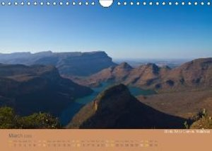 Africa Impressions / UK - Version (Wall Calendar 2015 DIN A4 Lan