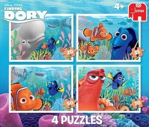 Disney Finding Dory 4in1 Puzzle 20/35/50/70 Teile