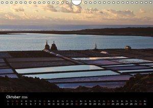 Lanzarote - Insel der Vulkane (Wandkalender 2016 DIN A4 quer)