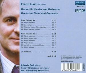 Klavierkonzerte 1 & 2/Totentanz