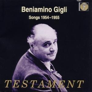 Beniamino Gigli-Songs 1954-1955