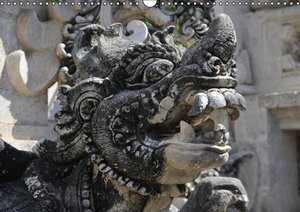 Bali, Statuen von Göttern und Dämonen (PosterbuchDIN A4 quer)