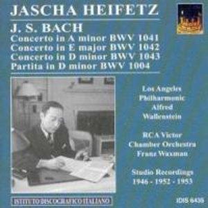 Heifetz plays Bach