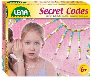 Simm 42529 - Lena: Secret Codes, Schmuck-Bastelset