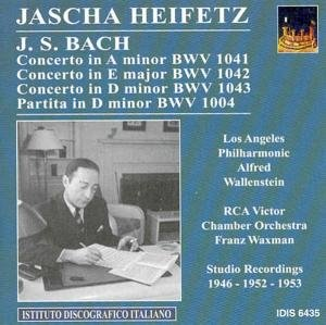 Heifetz plays Bach