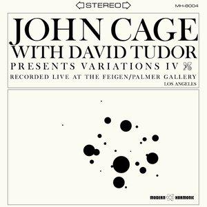 With David Tudor-Variations IV (LP)