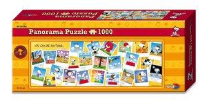 Peanuts - Panorama Puzzle 1000 tlg.