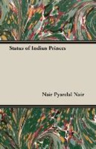 Status of Indian Princes