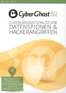 CyberGhost 5 Premium Plus VPN Edition 2015 (3PC/1Jahr)