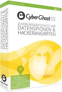 CyberGhost 5 Premium Plus VPN Edition 2015 (3PC/1Jahr)