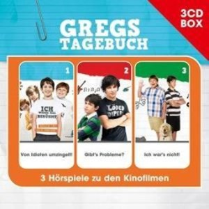 Gregs Tagebuch-3-CD Hörspielbox Vol.1