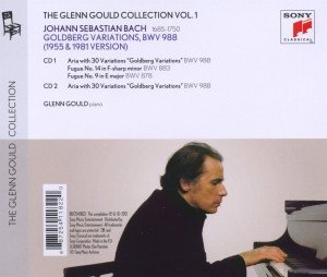 Bach: Goldberg Variationen 1955 & 1981 (GG Coll 1)
