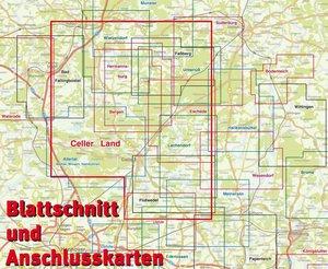 """Celler Land und """"Oberes Örtzetal"""" 1 : 60 000"""