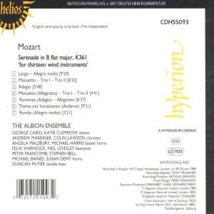 Serenade B-Dur KV 361