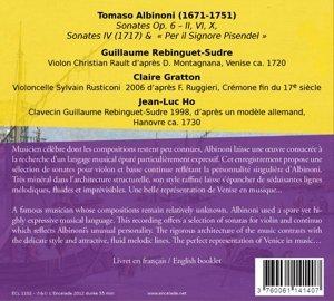 Sonates pour Violin