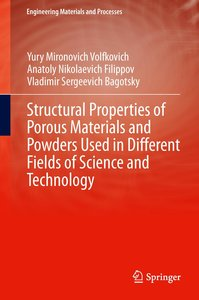 Structural Properties of Porous Materials and Powders Used in Di