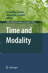Time and Modality
