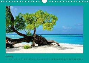 Beautiful Caribbean Beaches (Wall Calendar perpetual DIN A4 Land