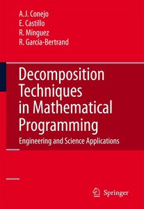 Decomposition Techniques in Mathematical Programming