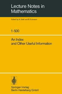 An Index and Other Useful Information